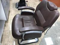 4 barbers chairs for sale