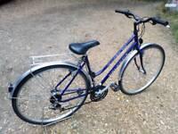 "Ladies Hybrid City Touring Bike PEUGEOT 18""frame"