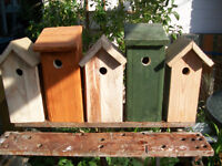 Bird boxes for sale ,nice and sturdy