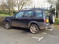 53 plate land rover freelander td4 automatic spare or repair