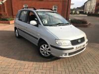 2005/55 HYUNDAI MARIX 1.8 CDX AUTOMATIC LOW MILEAGE LEATHERS