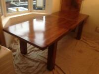 Extending Dining Table Solid Wood Mark Webster Design Ex Display RRP £690