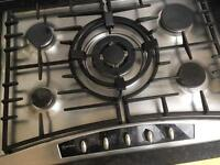Neff Gas Hob, integrated Fridge / Freezer, sink, work top