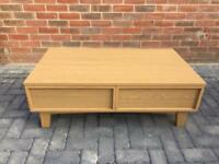 Coffee Table - oak veneer