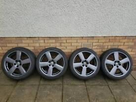 "Audi 18"" sline alloy wheels"