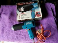 Black and decker heat gun for sale £10