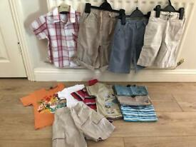 Boys summer bundle 18-24mths