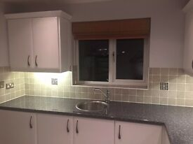 KITCHEN & ALL APPLIANCES (7 appliances, 2 sinks and taps, 15 cupboards & 6 Drawer Units)