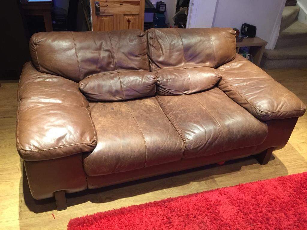 Leather suite 2+1+Foot Stool