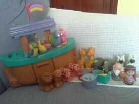 Fisher Price World Of Little People Noah's Ark