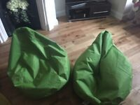 Lime green kids bean bag chairs