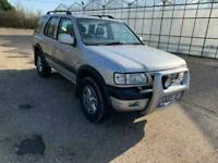 VAUXHALL FRONTERA 2002 FULL LEATHER HEATED SEATS VERY RARE CAR DRIVES BEST 07931688058
