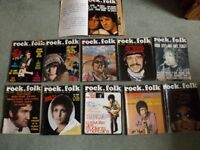 Magazine Collection, in French: Rock&Folk, 1967-1968