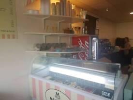 9 scoop ice cream freezer