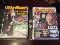 Striker Comics - All 87x Issues Perfect Condition!