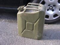 Military Style Heavy Duty 20 Litre Fuel Can Weymouth
