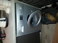 Bosch washing machine in silver colour