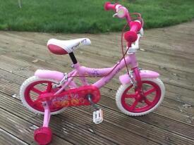 Girls Pink Angel Bike 14 inches
