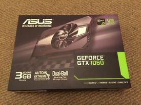 Asus GTX 1060 3GB graphics cards for sale (8 available)