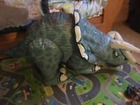 Remote Controlled Inflatable Triceratops