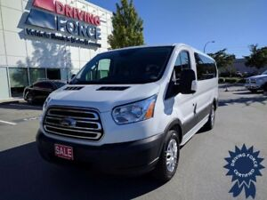 """2015 Ford Transit Wagon T-150 130"""" Low Roof XLT, 8 Passenger"""