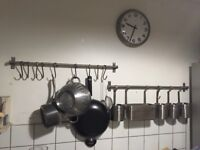 IKEA Stainless Steel Rail Unit (Used Condition)