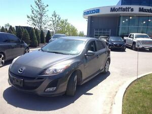 2011 Mazda MAZDA3 SPORT GS w/ LEATHER, SUNROOF, CRUISE, ALLOY WH