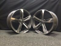 "18"" AUDI RS7 STYLE ALLOYS WHEELS TTRS RS4 RS5 RS6 S3 S4 S5 S6 A3 A4 A5 TT TTS TOURAN GOLF S LINE"