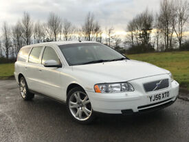 2006 56 VOLVO V70 2.4 D S E4 DIESEL ESTATE 2 OWNERS FROM NEW, FULL SERVICE HISTORY