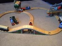 Thomas and friends wooden track and accessories