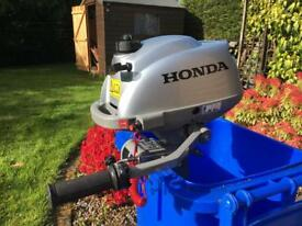 SOLD - Honda 2.3HP Outboard Motor - Long Shaft