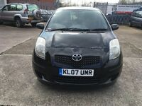 Toyota Yaris 1.3 black One owner from new mot until 25/10/17 full dealer service history
