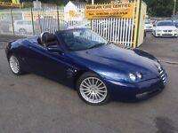 ALFA ROMEO SPIDER 2.0 JTS Lusso 2dr (blue) 2004