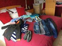 Boys clothes ages 5 - 7 years some unworn, labels including ted baker, Slazenger, M&S, next, polo