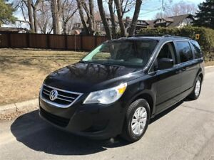 2009 Volkswagen Routan Air conditionné et chaleur tv/dvd