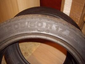 CONTINENTAL TYRES X 2 - 205/50/R17 - 93W