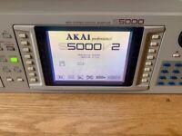 Akai S5000 64 voice Midi Sampler, 256Mb Ram , 8gb Int. HD