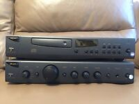 Amplifier and CD Player Arcam Alpha 7