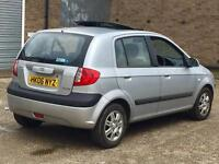 Quick sale 2006 hyundai Getz 1.4 cdx Fully Automatic Gearbox petrol full service history 79k miles
