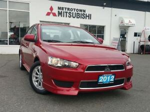 2012 Mitsubishi Lancer SE; Bluetooth, Heated seats!