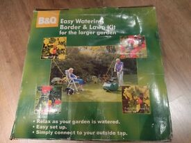 Border and lawn watering kit (sprinkler system)