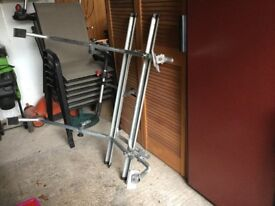 Bicycle rack for Cittroen Picasso or other cars