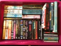 Books, dvds, CDs