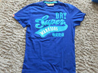 2 Mens Hollister & 1 Superdry Tshirt in size M