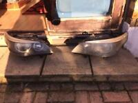 sell headlights bmw series 5 model 2003 - 2009