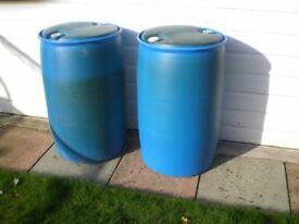 polythene drums