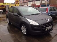 2010 60 Peugeot 3008 Active HDI 1.6 Diesel automatic
