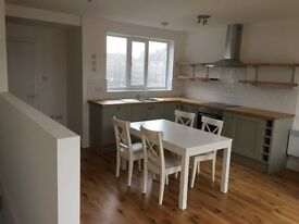 4 bed bright, spacious newly refurbished maisonette flat over 3 upper floors 750pw