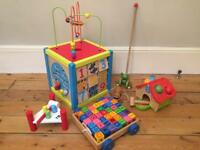 Wooden Play Activity Toys