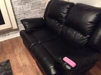 Sofa 3 seater &2 seater both recliners